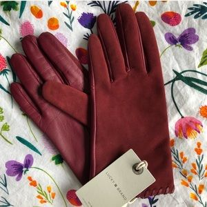 Lucky Brand Leather Gloves